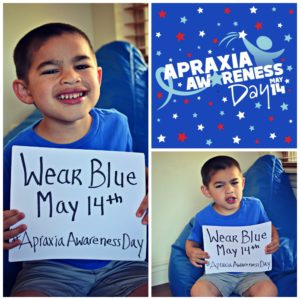 Let's Celebrate {Apraxia Awareness Day}