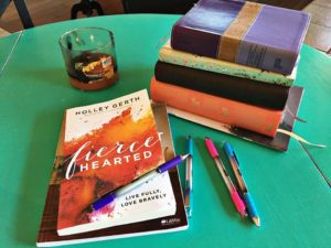 Permission to Stay and Rest and Be {Fierce Hearted Book Review}