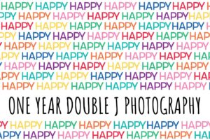 Celebrating ONE Year of Double J Photography