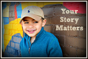 On Your Sixth Birthday {Your Story Matters}